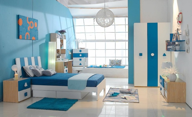 Colori Pareti Azzurro : Pitturare casa i colori le ultime tendenze e le combinazioni per