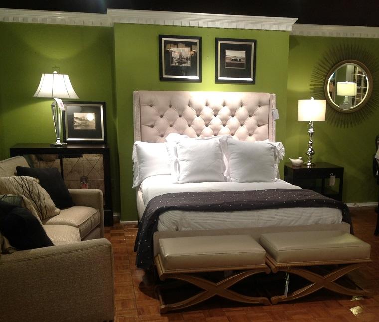 Pareti colorate come personalizzare living e camere da letto con originalit - Camera da letto verde mela ...