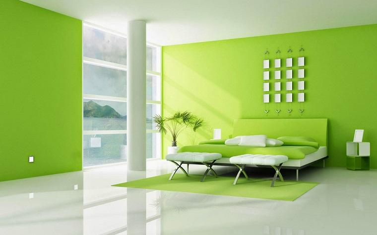 Emejing Camera Da Letto Verde Mela Ideas - Design and Ideas ...