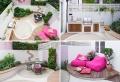 Come allestire un giardino dal design moderno con tante decorazioni