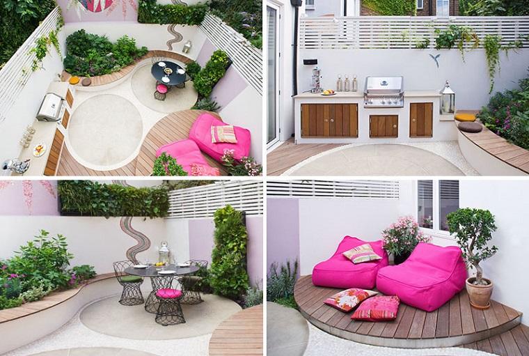 Come allestire un giardino dal design moderno con tante decorazioni - Giardino moderno design ...