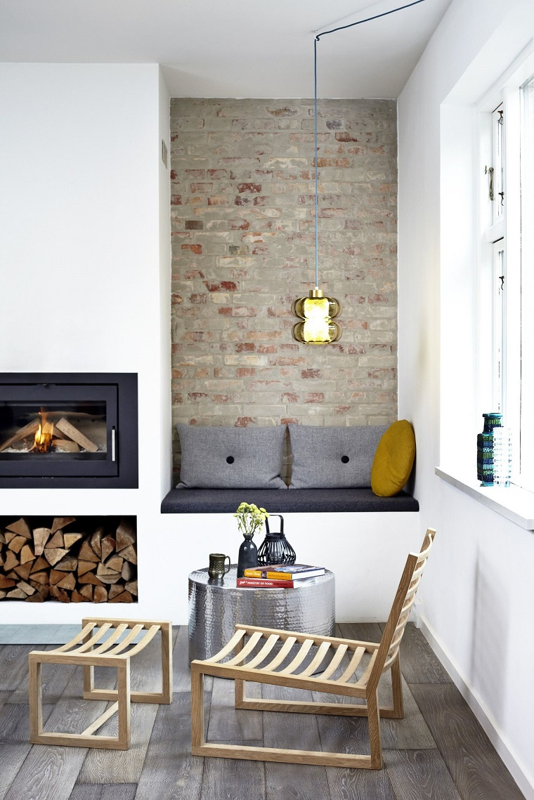 come arredare un soggiorno stile rustico