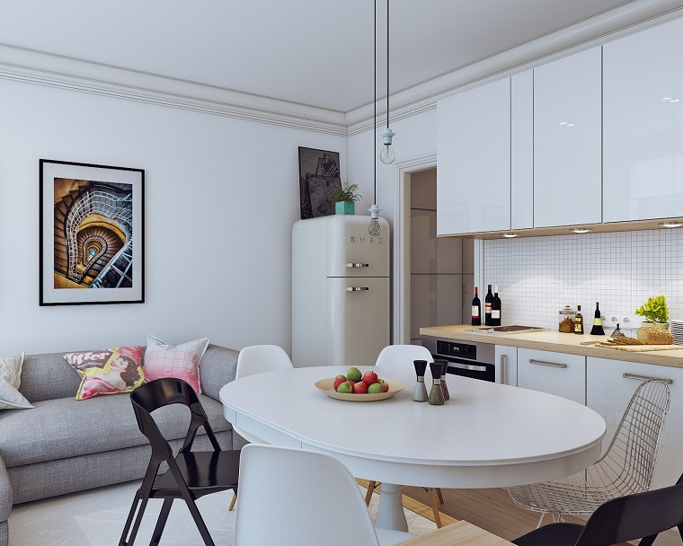 Arredare casa piccola 23 suggerimenti da sogno - Arredare sala piccola ...