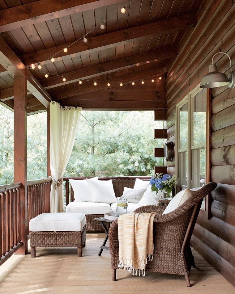 Come arredare una veranda soluzioni per un arredo esterno - Arredo casa da sogno ...