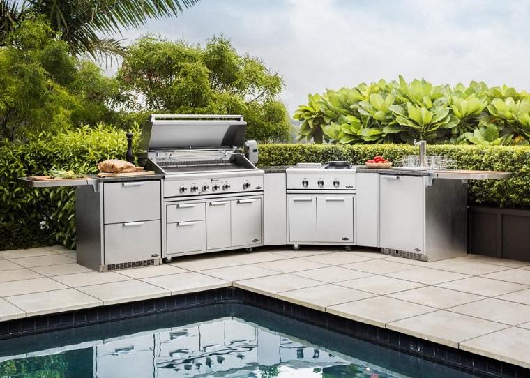 cucina esterno disegnata DCS Appliances