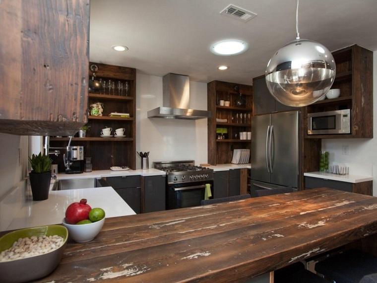 Cucine rustiche moderne una fusione di stili per un effetto accogliente e contemporaneo - Cucine in stile rustico ...