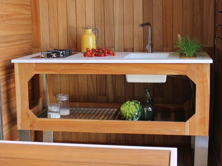 Cucine da esterno soluzioni tecnologiche e dal design - Cucine da esterno ikea ...