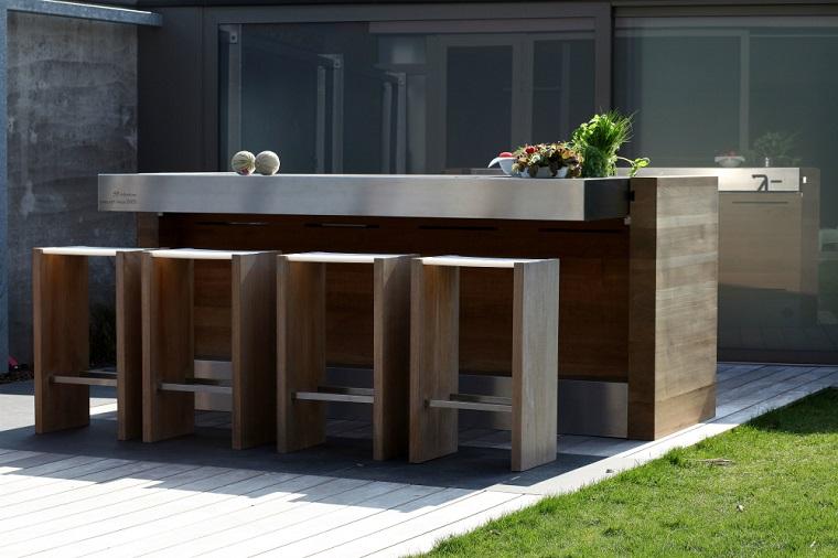 Cucine da esterno: soluzioni tecnologiche e dal design ...