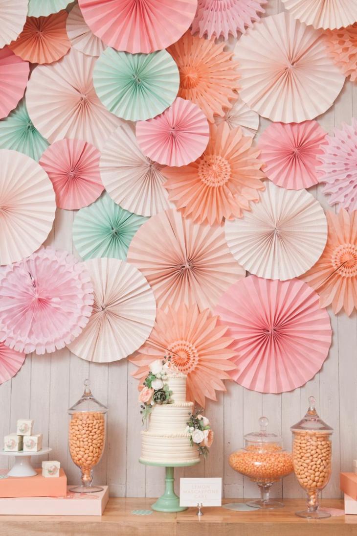 decorazioni matrimonio semplici originali colori freschi