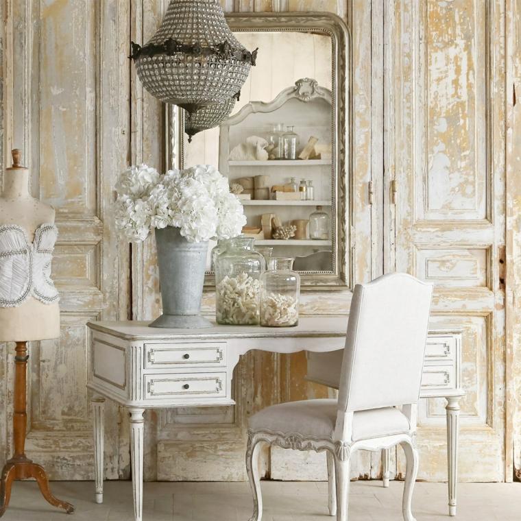 decorazioni mobili stile provenzale arredare studio