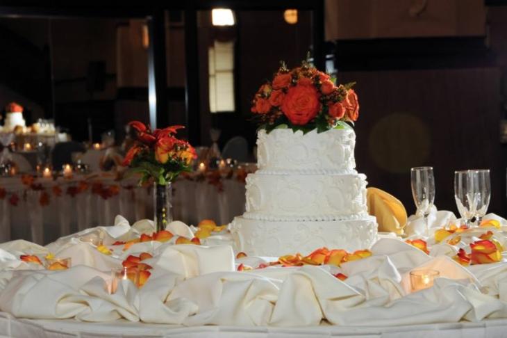 decorazioni per matrimonio semplici vivaci colorate