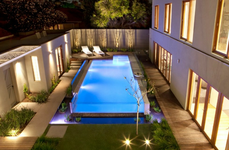 giardini con piscina proposta particolare outdoor mozzafiato