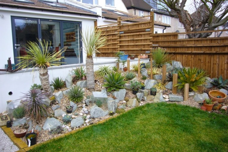 giardini rocciosi idea particolare originale angolo verde