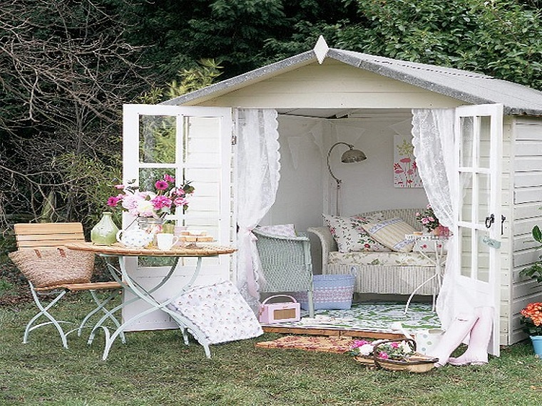 giardini shabby chic proposta cottage
