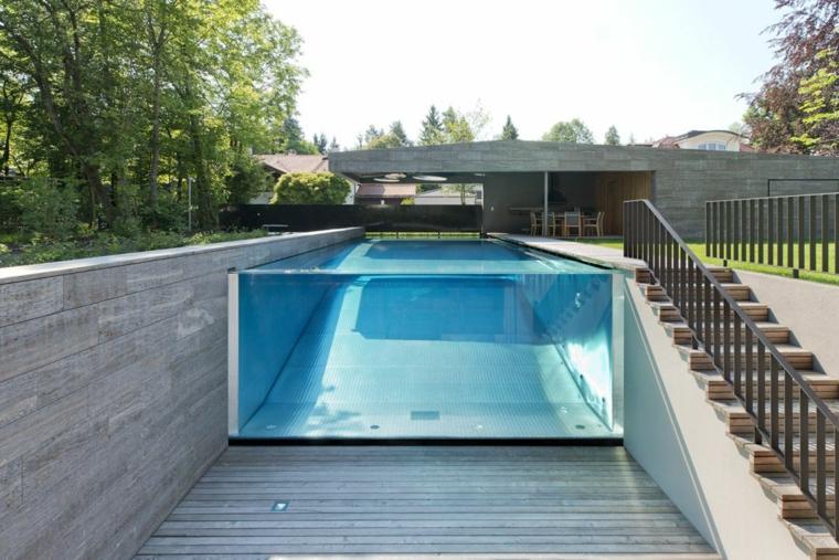 giardino con piscina proposta mozzafiato outdoor