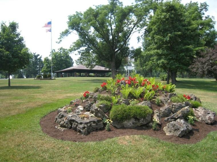giardino roccioso proposta particolare angolo outdoor
