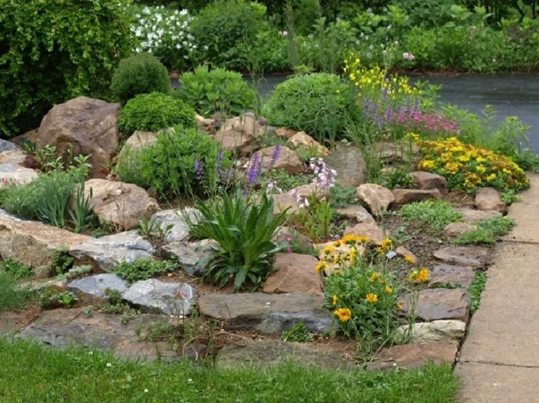 giardino suggerimento particolare originale roccia