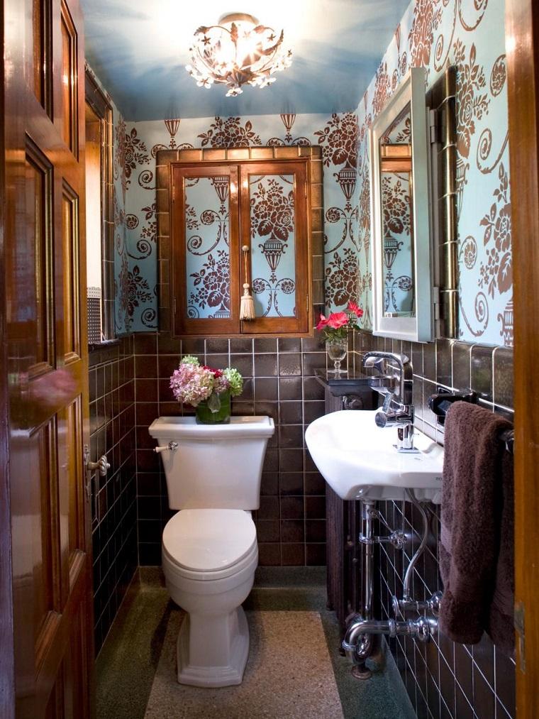 idea arredare decorare bagno piccolo