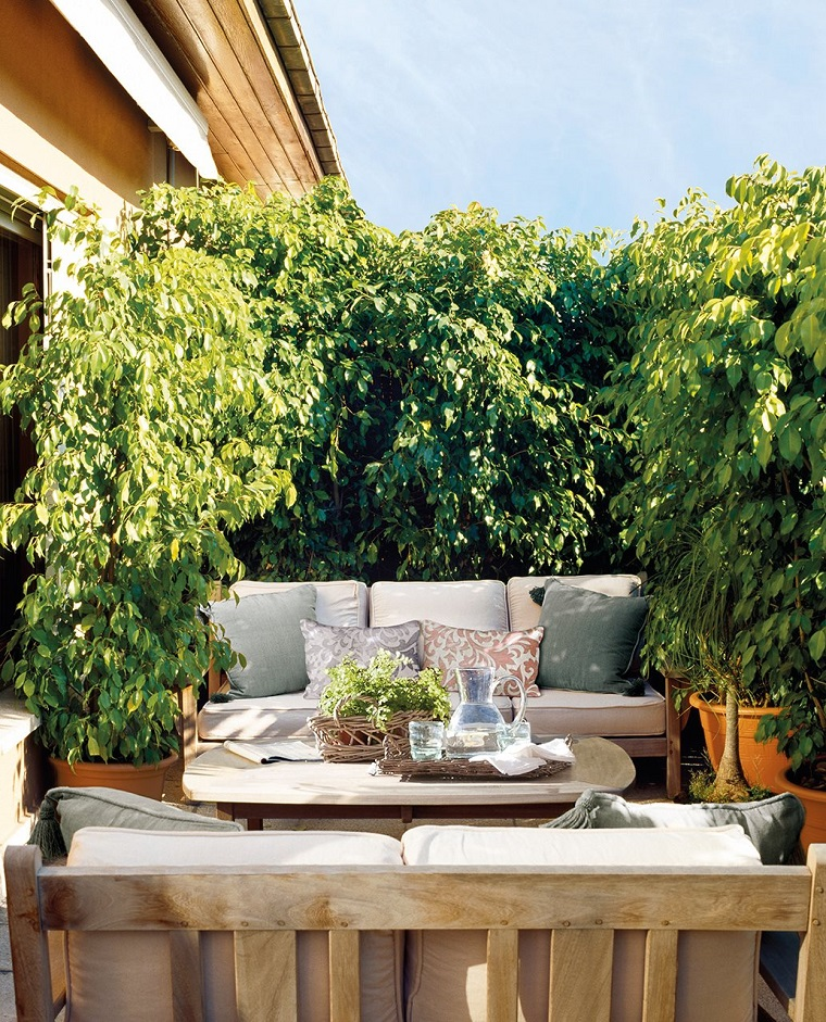 idea arredare modo carino balcone