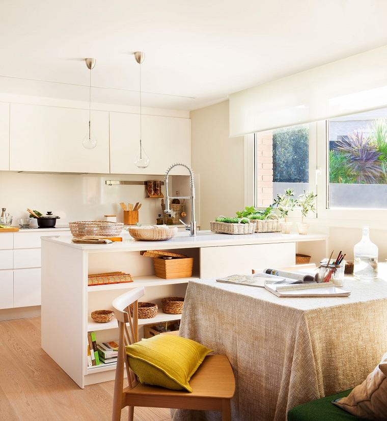 idea open space cucina isola centrale