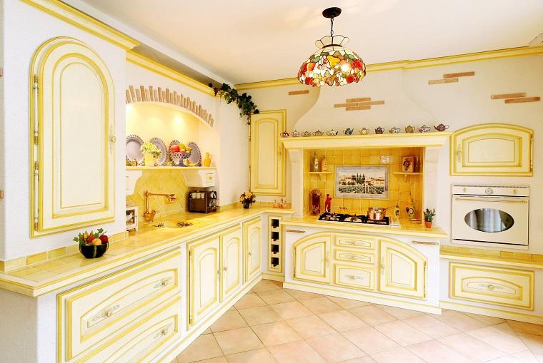 cucina provenzale una fotogallery ricca di suggerimenti e idee. Black Bedroom Furniture Sets. Home Design Ideas