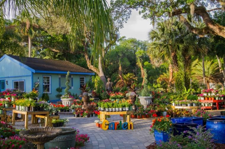idea originale decorare giardino maniera adorabile