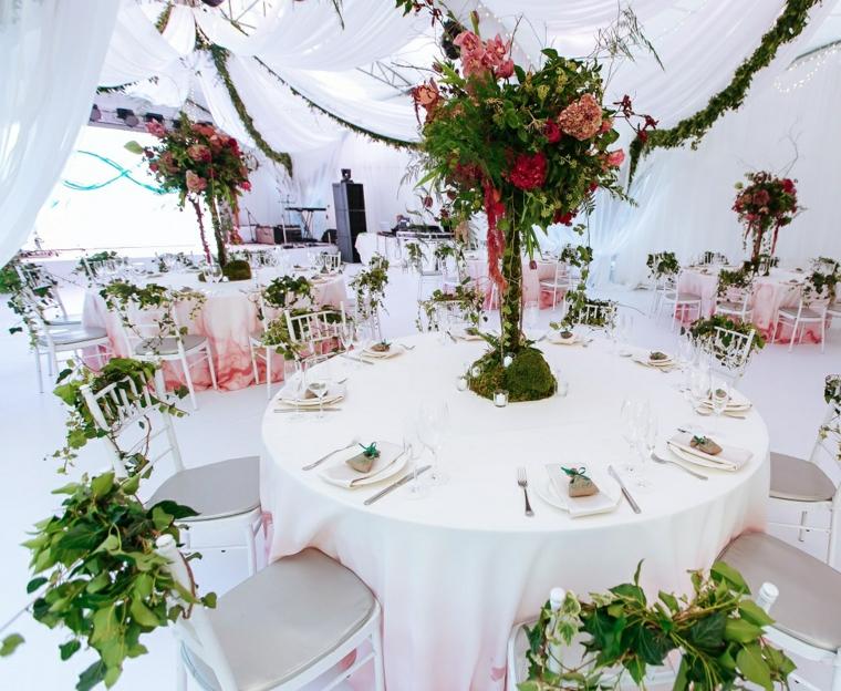 idea particolare decorazioni vivaci colorate nozze