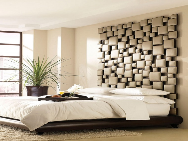 Idee creative per una casa originale funzionale e alla moda - Testata letto originale ...