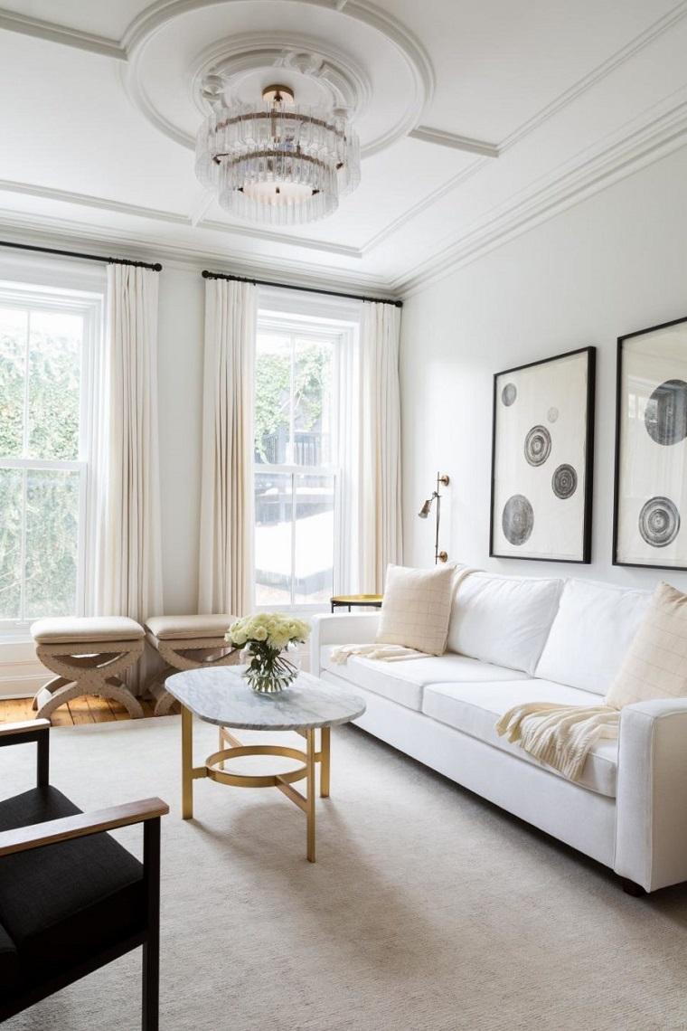idee per arredare casa soggiorno moderno