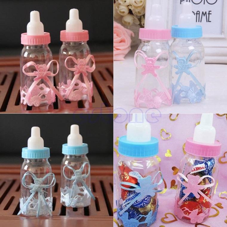 idee regalo nascita bimbo bimba finte bottiglie