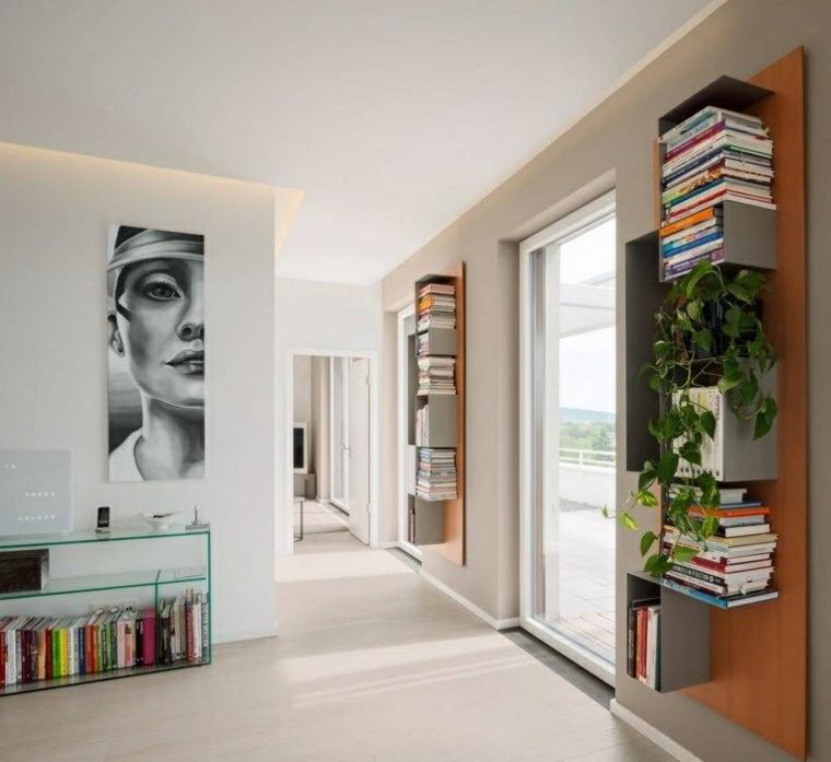 ingresso moderno idea particolare design originale