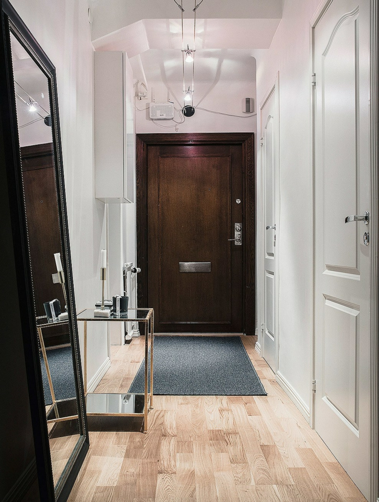 ingresso moderno idea particolare originale design moderno