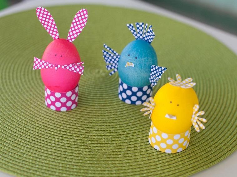 lavoretto fai da te bambini uova carta