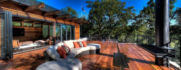 le terrazze idea particolare semplice arredo outdoor