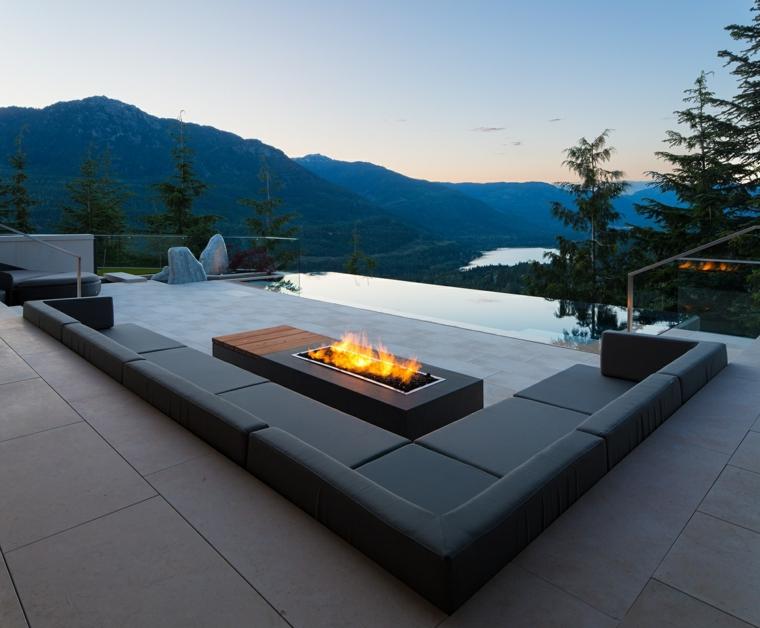 le terrazze suggerimento particolare originale arredo outdoor