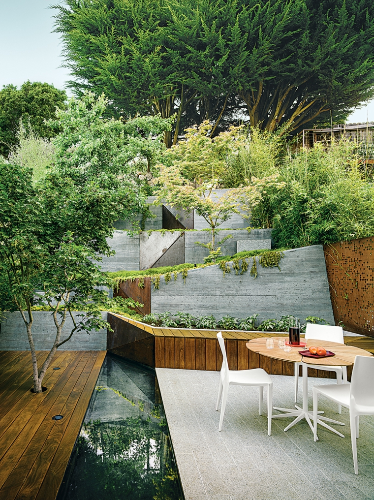 le terrazze suggerimento semplice originale arredo outdoor
