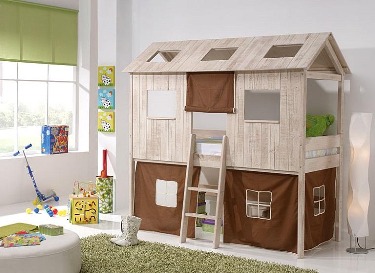 Tenda Per Letto A Castello Ikea : Letti a castello per bambini e alcuni trucchi salvaspazio per la