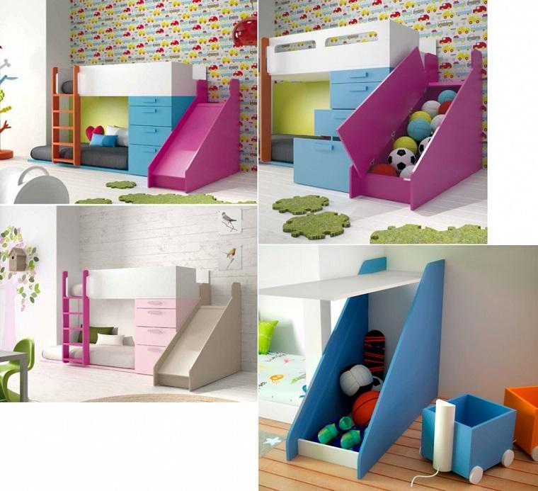Letti a castello per bambini e alcuni trucchi salvaspazio per la cameretta - Letto castello design ...