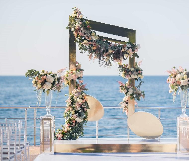 matrimonio decorazioni originali semplici raffinate
