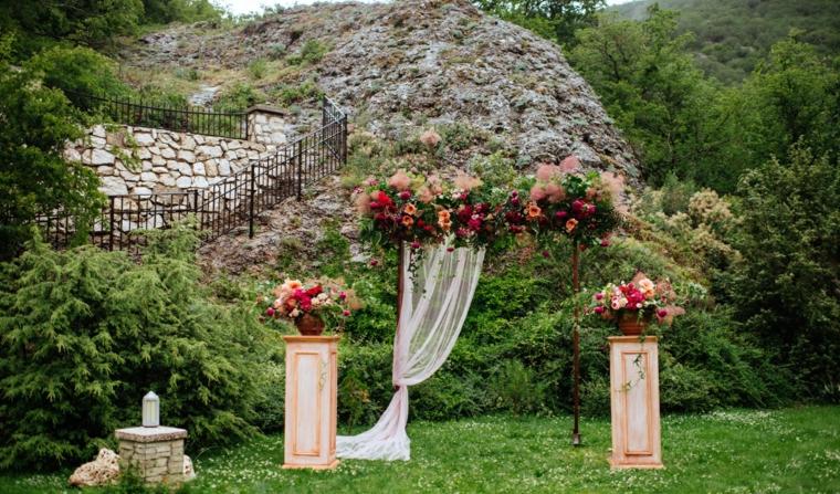 matrimonio suggerimento originale decorazioni particolari