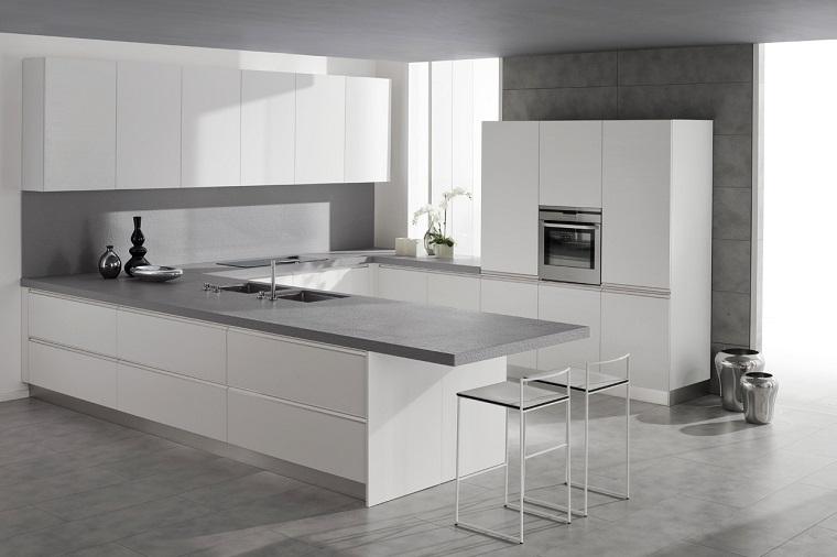 Arredamento minimal idee e composizioni per ogni ambiente - Mobili laccati bianchi ...