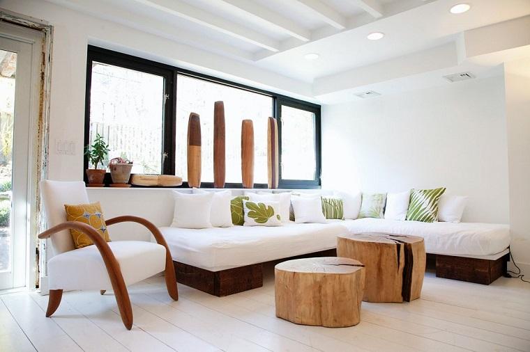 Mobili bianchi per il soggiorno ecco come creare un ambiente