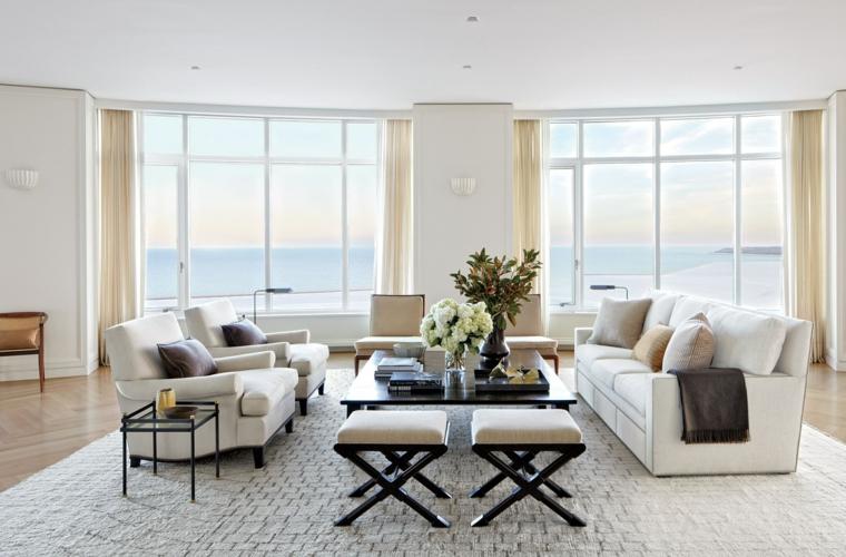 Mobili bianchi per il soggiorno: ecco come creare un ambiente ...