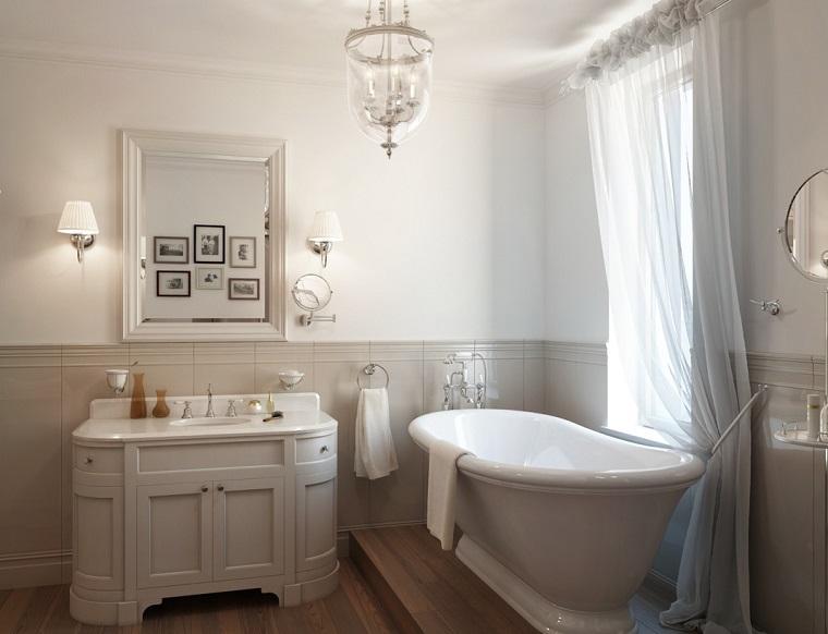 mobili classici bagno proposta bianco