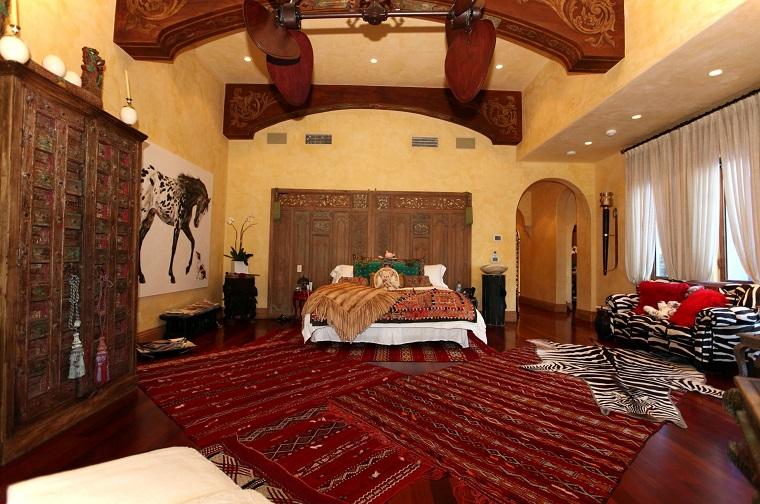 mobili etnici camera letto stile marocchino