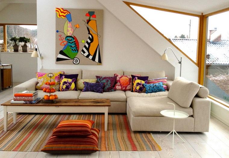 mobili etnici idea soggiorno moderno