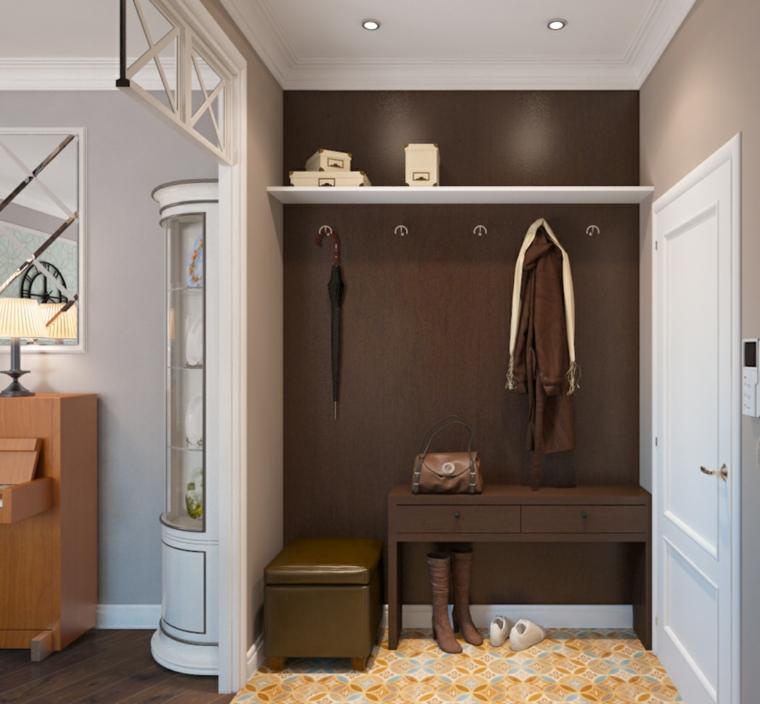 mobili ingresso moderni idea semplice particolare