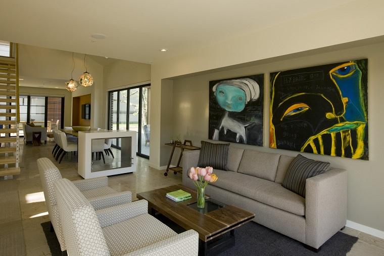 mobili soggiorno moderni dettagli avanguardia