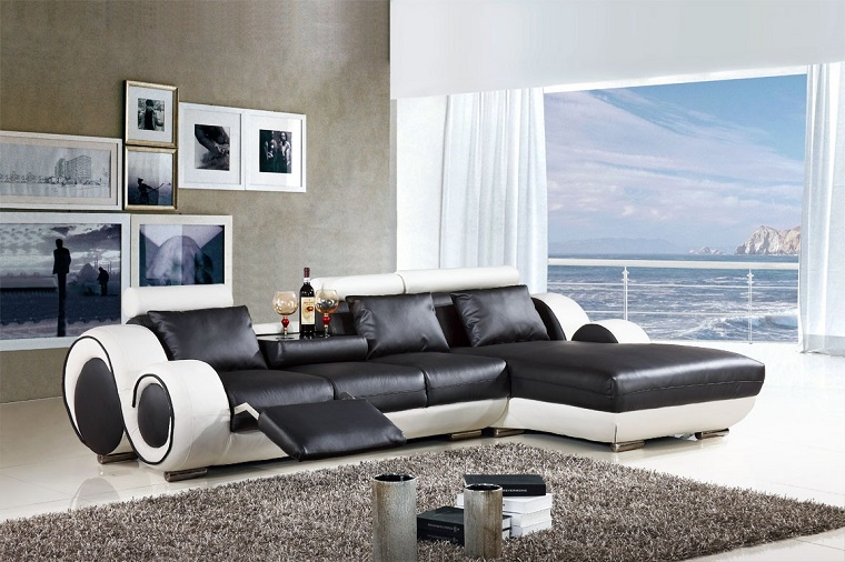 mobili soggiorno moderni divano design innovativo