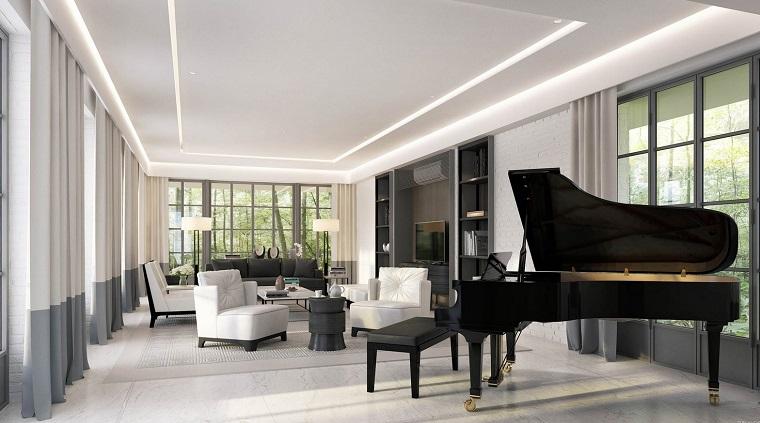 mobili soggiorno moderni proposta sofisticata piano